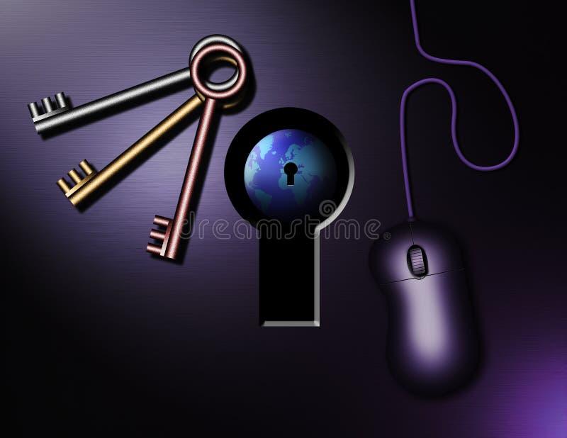 Claves del Internet libre illustration