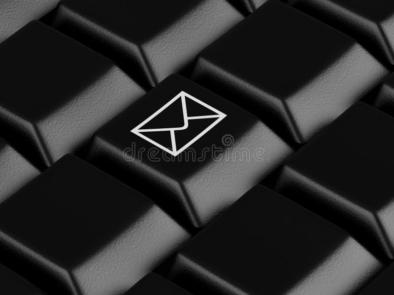 Clavier d'ordinateur illustration de vecteur