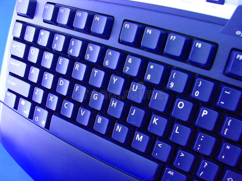 Clavier d'ordinateur images stock