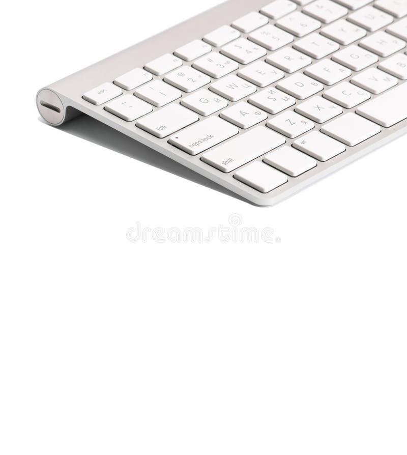 Clavier d'ordinateur D'isolement sur le blanc photo libre de droits
