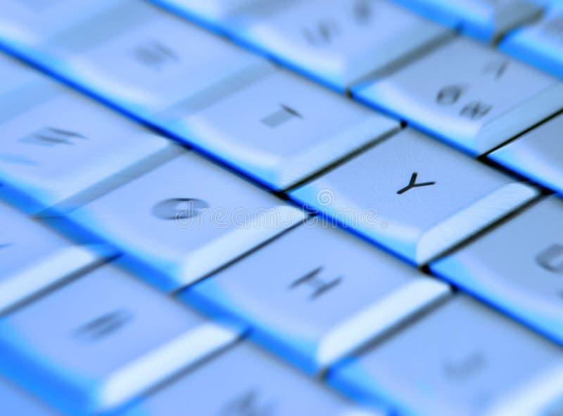 Clavier d'ordinateur portatif images libres de droits