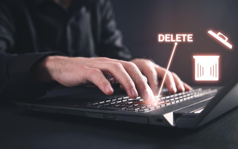 Le Clavier De Dactylographie D'ordinateur Portable De