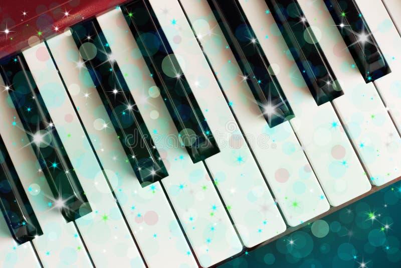 Clavier de piano féerique photo stock