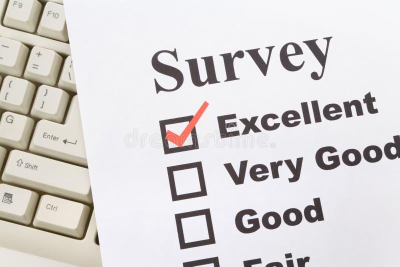 Clavier de questionnaire et d'ordinateur images libres de droits