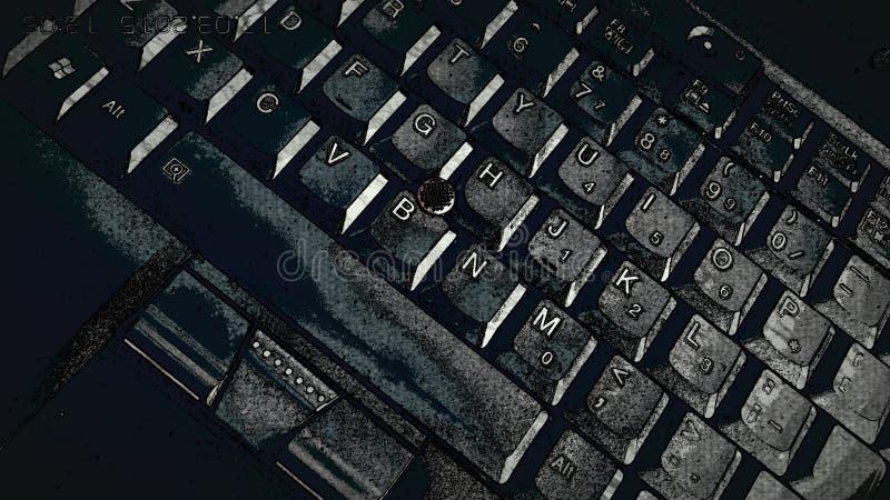 Clavier de Tablette image stock