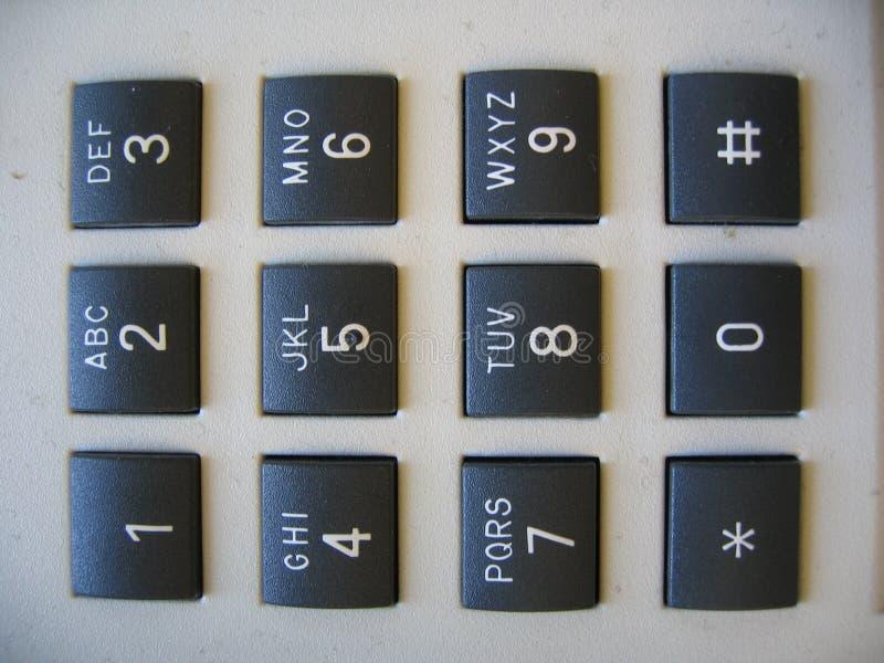 Clavier Numérique De Calculatrice Photos stock