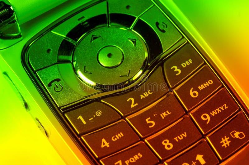 Clavier numérique de portable photo libre de droits