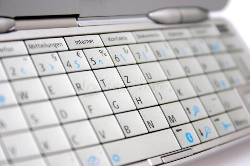 Clavier numérique de téléphone portable photos stock