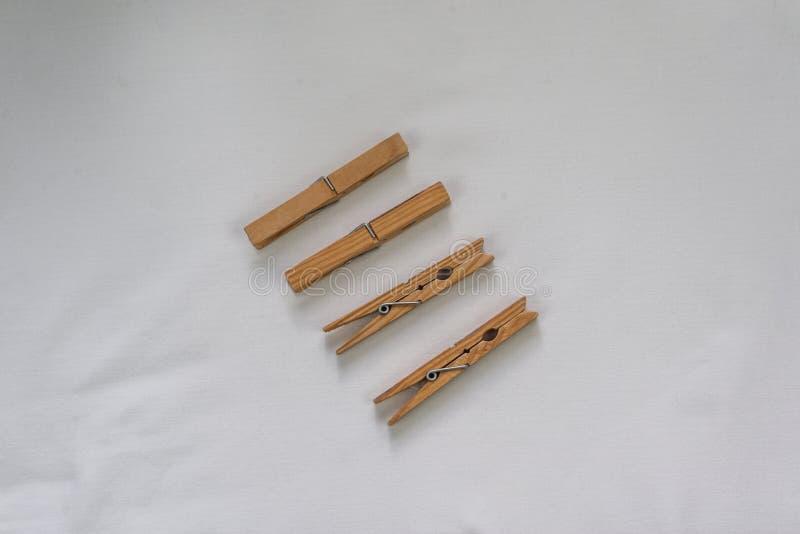 Clavijas de madera foto de archivo libre de regalías