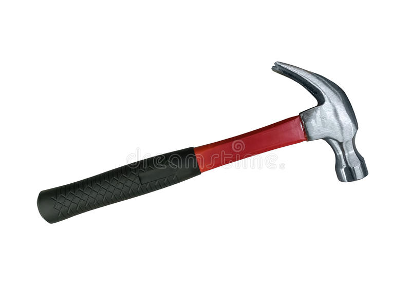 Claw hammer stock images