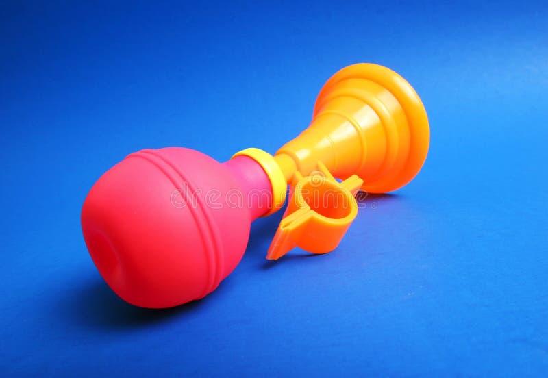 Claxon del juguete fotografía de archivo