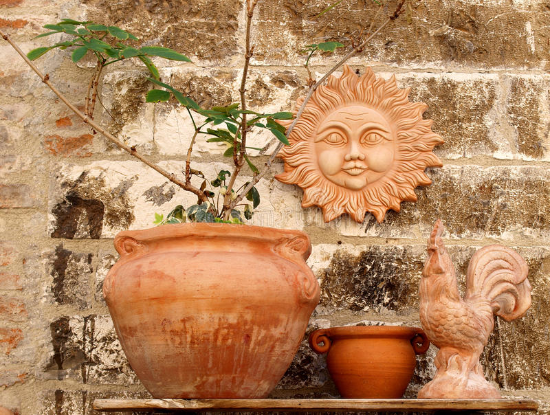 Download Clay art stock photo. Image of objects, plant, town, decoration - 20926516