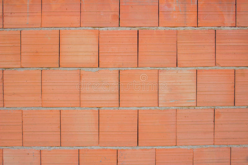 Clay Blocks Wall Background Stock Photo Image Of