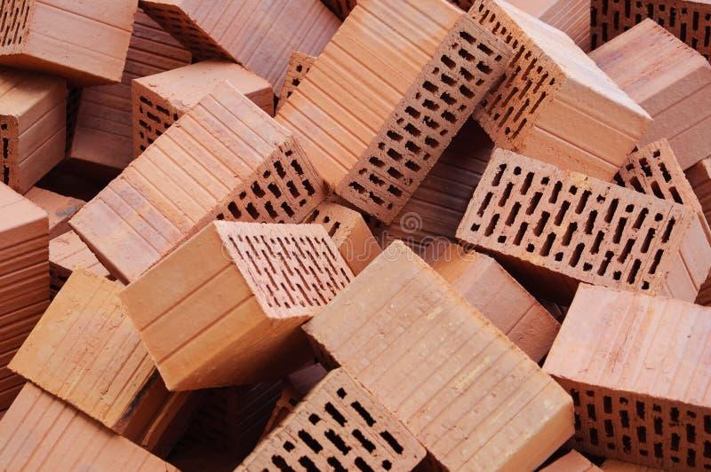 Clay Bricks photos libres de droits