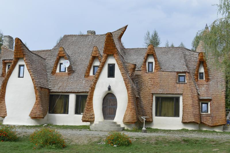 The clay castle in Sibiu County. royalty free stock photos