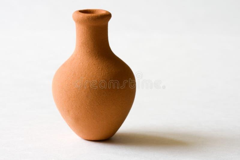 Clay Ceramic Pot royalty free stock image