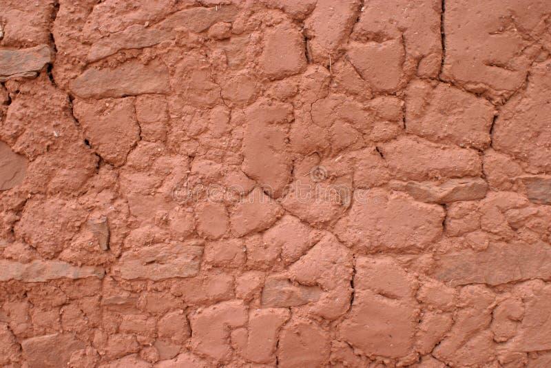 Clay Contours, Abo Pueblo, New Mexico royalty free stock image