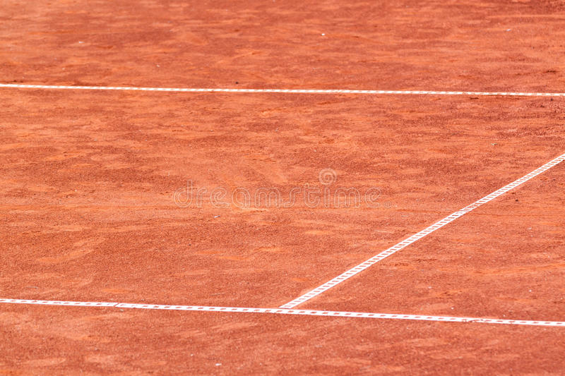 Clay court royalty free stock photo