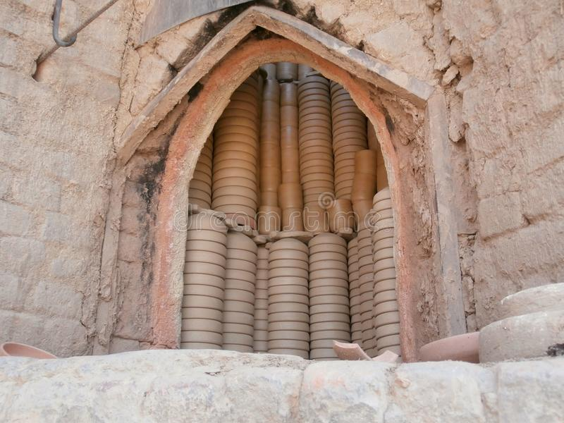 Clay crockery cooking oven royalty free stock images