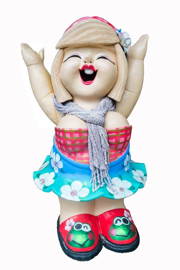 Clay doll royalty free stock photos