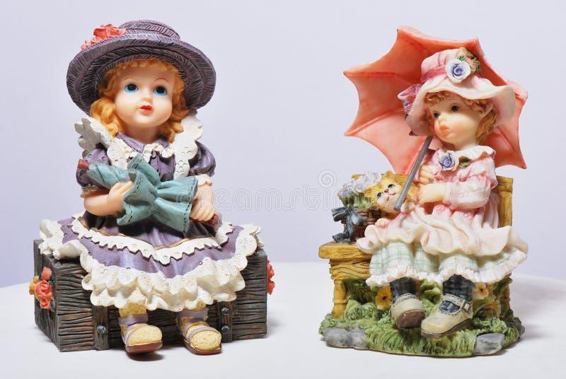 Clay Dolls fotos de archivo