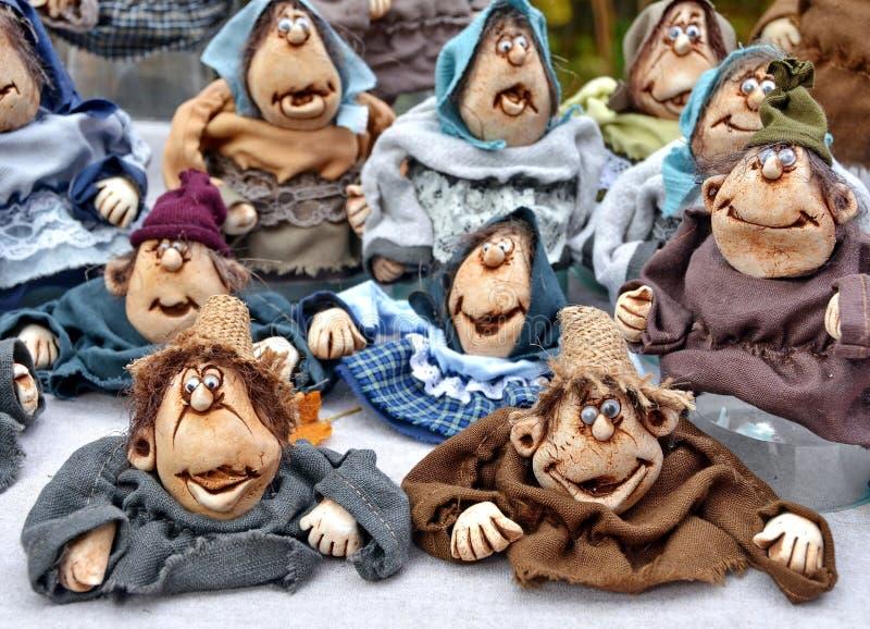 Clay Dolls fotos de stock royalty free