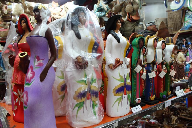 Clay Dolls stock fotografie