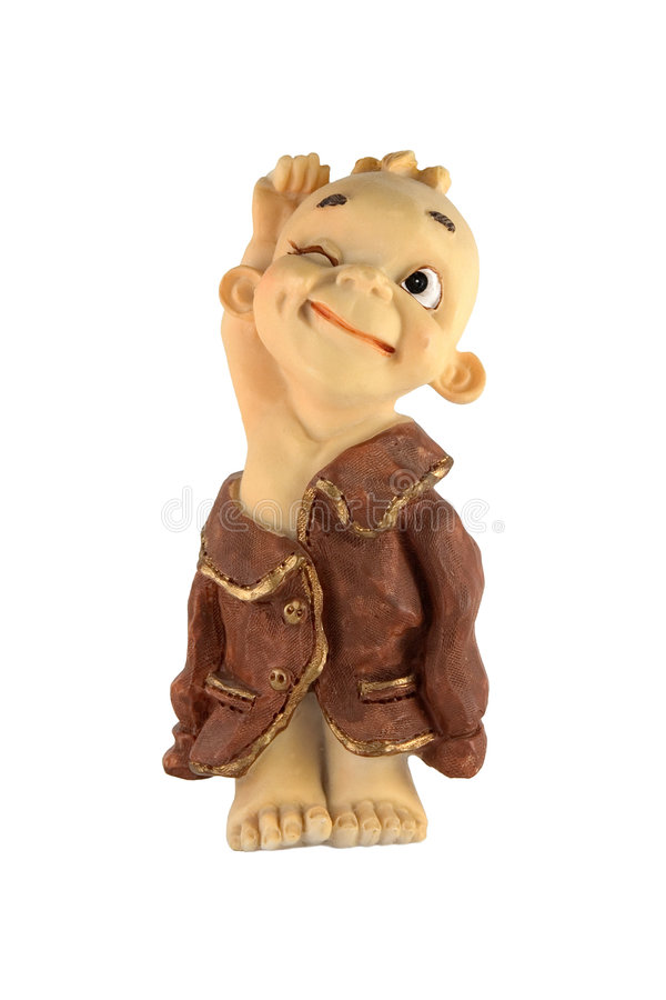 Download Clay figure stock image. Image of close, imitation, dummy - 461915