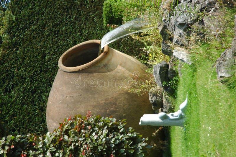clay fontanny vat zdjęcie stock