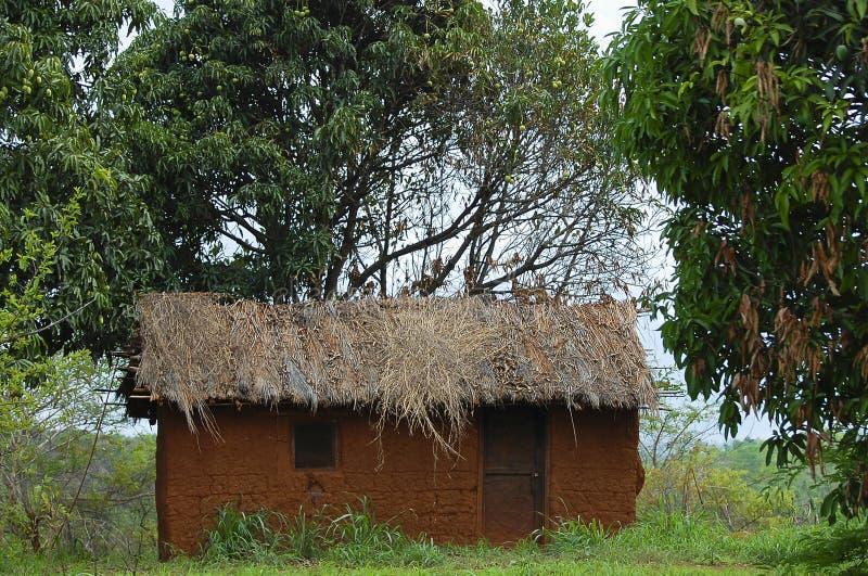 Clay House - Tanzania imagenes de archivo