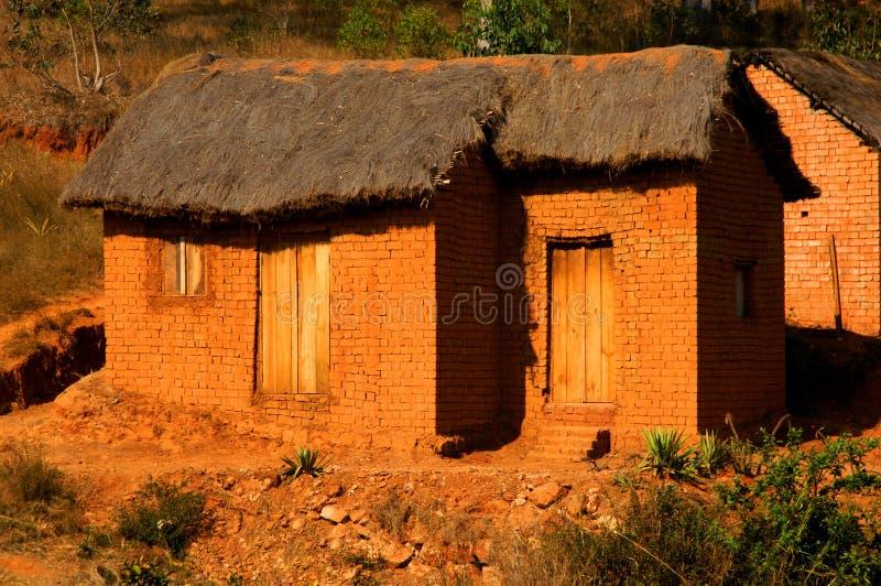 Clay hut royalty free stock photo