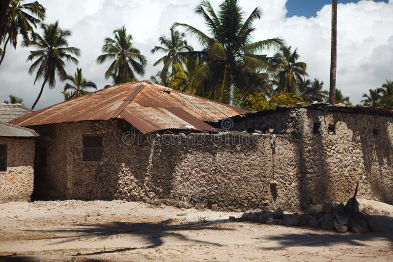 Clay hut stock image