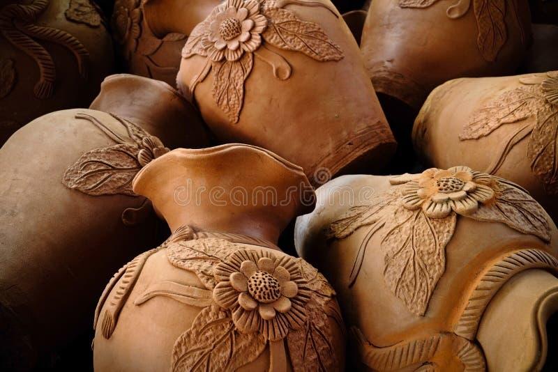 Clay Jar royalty free stock photo