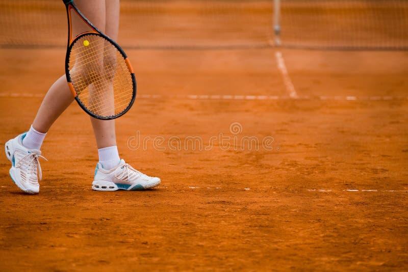 clay koncepcji sądu tenis gracza zdjęcia royalty free