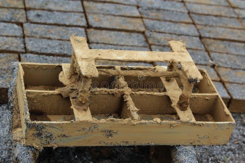 Clay mold royalty free stock photo