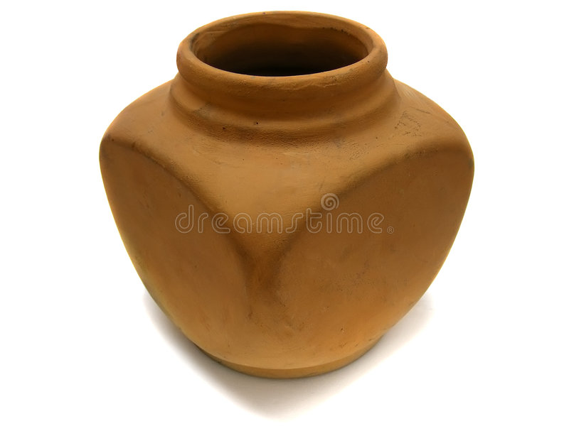 Download Clay old vase stock image. Image of object, craft, container - 8191705