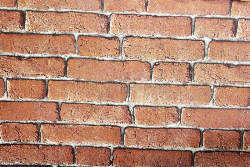 Clay Photo Wall Smooth en bruin verfraait stock fotografie