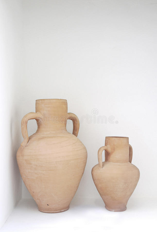 Clay Pitcher Royalty Free Stock Photos