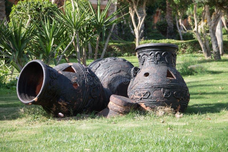 Clay Pot photo stock