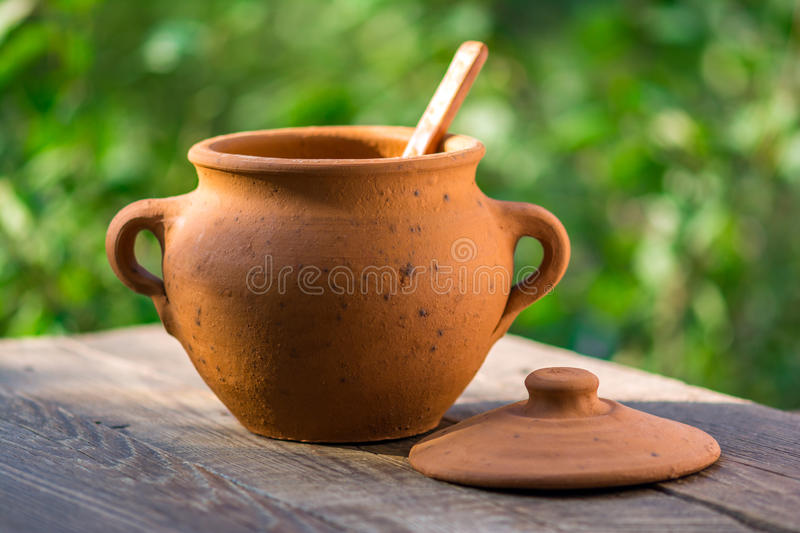 Clay Pot fotografia de stock royalty free
