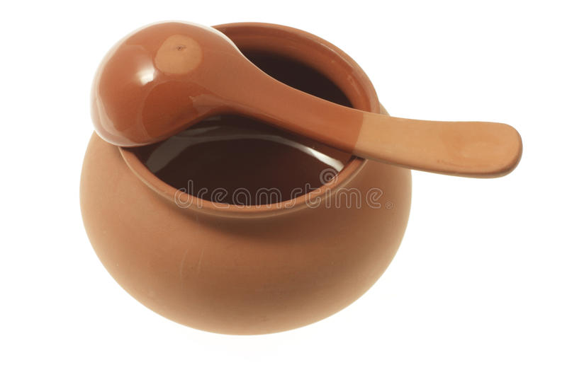 Download Clay Pot And Ladle Stock Image - Image: 15061861