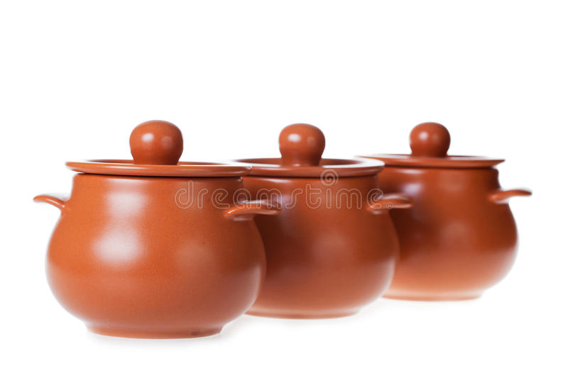 Clay Pots Royalty Free Stock Images
