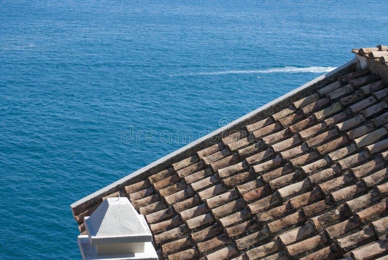 Clay Roof Tiles fotos de archivo libres de regalías
