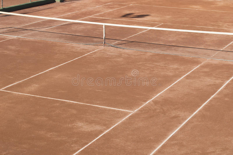 Download Clay surface tennis court stock photo. Image of horizontal - 29380466