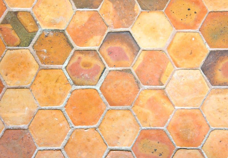 Clay Tile Background stockfotos