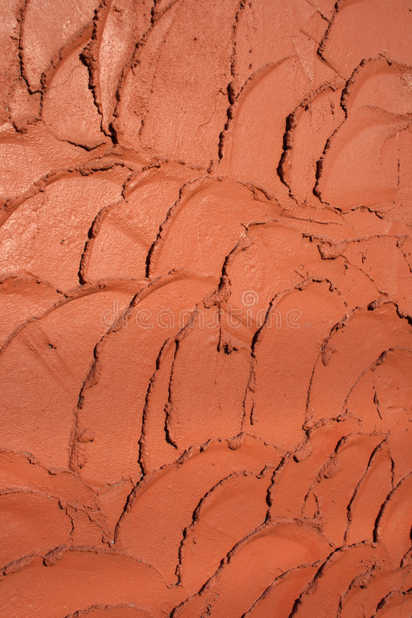Clay tiles pattern. Terracotta clay tiles pattern ? detail of a wall stock image