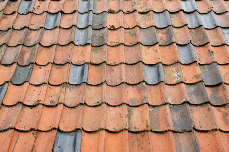 Clay tiles. For roof royalty free stock photography