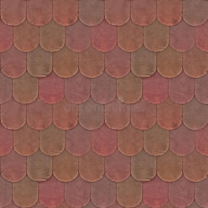 Clay Tiles Seamless Pattern vector illustration