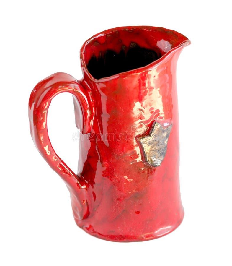 Clay Vessels rosso immagini stock libere da diritti