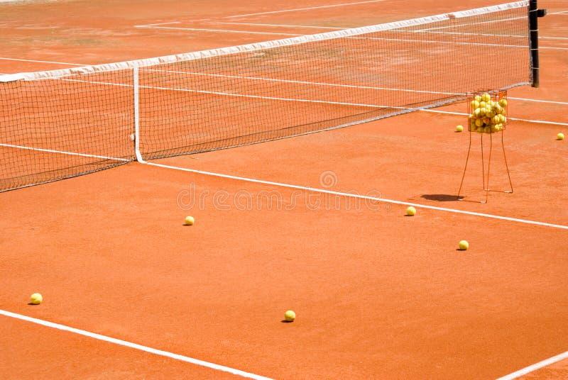 clay w tenisa zdjęcia stock